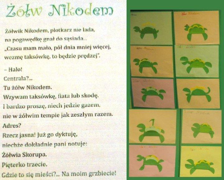 żółw Nikodemwiersz